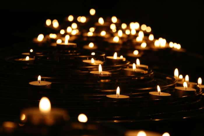 We Light a Candle for Sutherland Springs, Texas